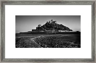 St Michaels Mount Framed Print by Martin Newman