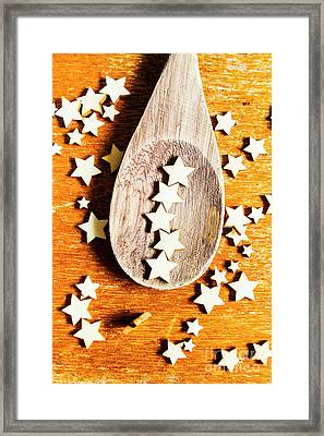 5 Star Catering And Restaurant Award Framed Print