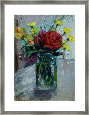 Still Life Framed Print by George Siaba