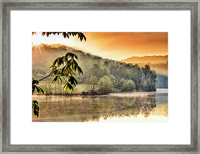 Stonewall Resort Sunrise Framed Print