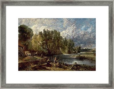 Stratford Mill Framed Print