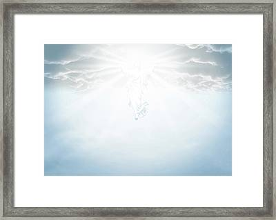 The Ascension And Resurrection Framed Print