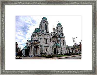 The Basilica Framed Print by Michael Frank Jr