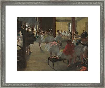 The Dance Class Framed Print by Mountain Dreams