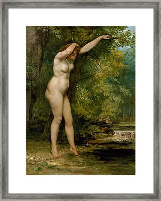 The Young Bather Framed Print