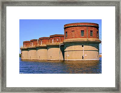 5 Towers Of Lake Murray S C Framed Print