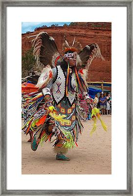 Traditional Dancer Framed Print by Tim McCarthy