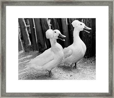 Untitled Framed Print by Underwood Archives