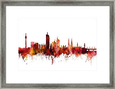Vienna Austria Skyline Framed Print