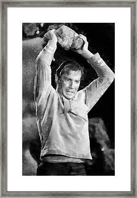Vintage Trek Framed Print by John Springfield
