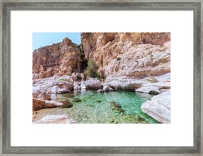 Wadi Bani Khalid - Oman Framed Print