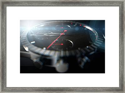 Watch Closeups Framed Print