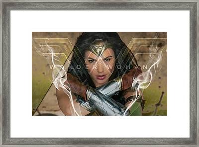 Wonder Woman Art Framed Print