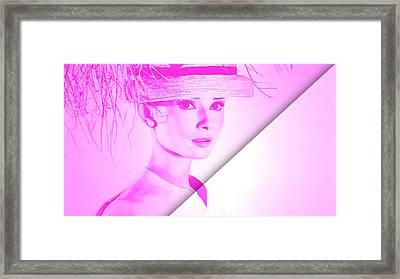 Audrey Hepburn Collection Framed Print