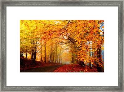 Landscape Artwork Framed Print