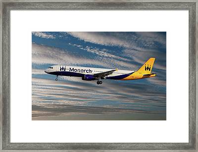 Monarch Airbus A321-231 Framed Print