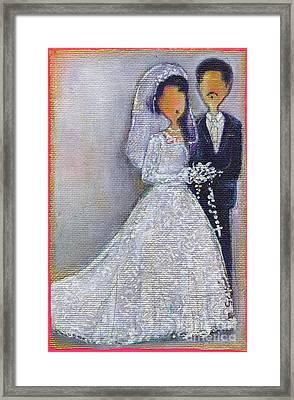 50 Framed Print by Ricky Sencion