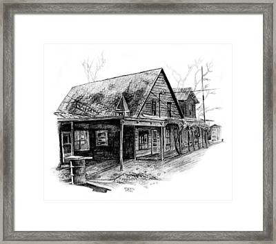 Mansfield General Store Framed Print by David M Pigg