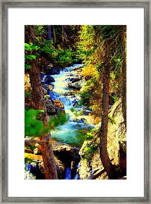 Yellowstone Park Framed Print