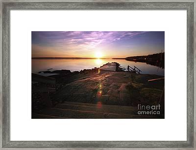 5.00 A.m. Rauhaniemi Framed Print by Tapio Koivula