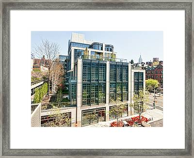 500 W 21st Street 3 Framed Print