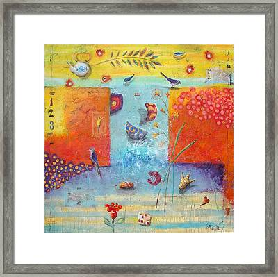 509 Framed Print by Sonja Kobrehel