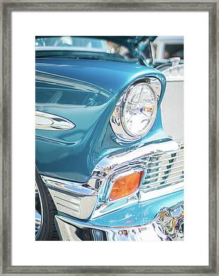 50s Chevy Chrome Framed Print by Mike Reid