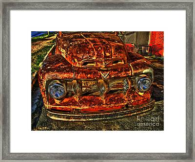 50s Ford Truck Framed Print by Corky Willis Atlanta Photography