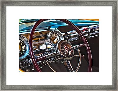 51 Hudson Hornet Dash Framed Print