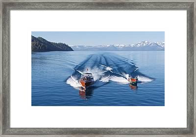 Iconic Thunderbird Framed Print