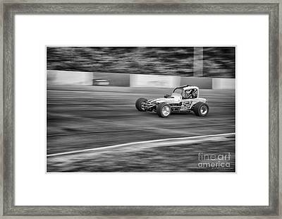 51 In The Lead. Framed Print