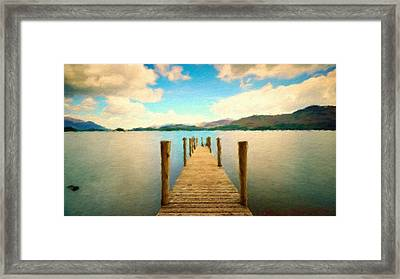 J C Landscape Framed Print