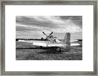 Framed Print featuring the photograph 51 Shades Of Grey by Peter Chilelli