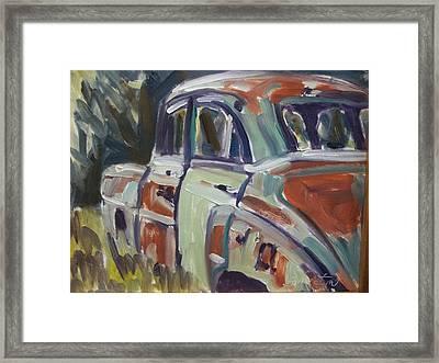 52 Chevy Framed Print