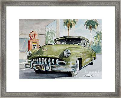 '52 Desoto Framed Print by William Reed