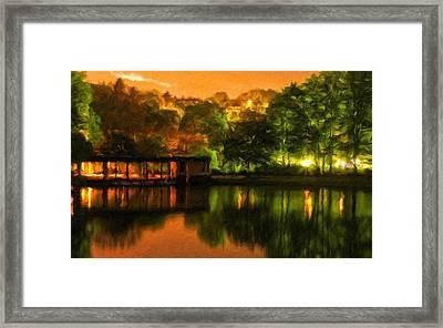 Landscape Color Framed Print