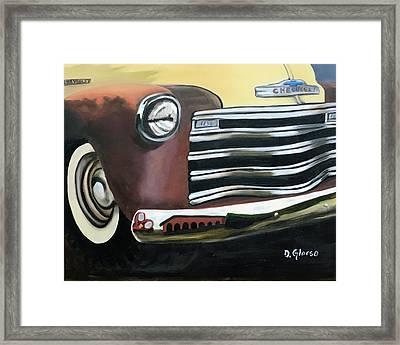 53 Chevy Truck Framed Print