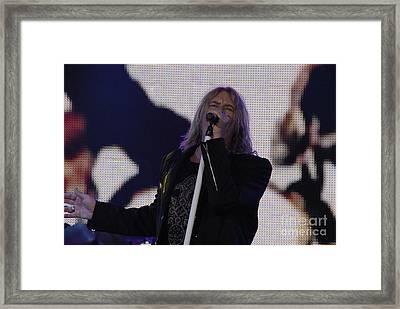 Def Leppard Framed Print by Jenny Potter