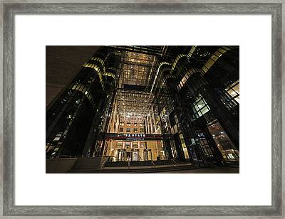 53 State Street Boston Ma Exchange Place Framed Print by Toby McGuire