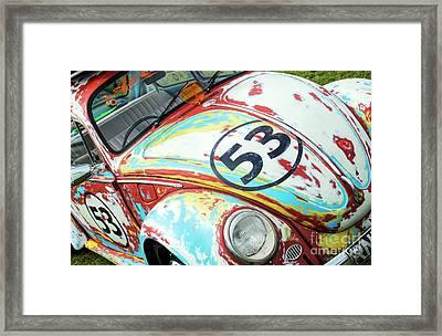 53 Framed Print by Tim Gainey