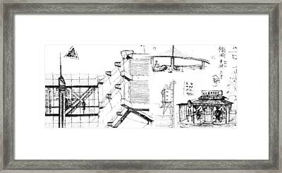 5.32.japan-7-detail-b Framed Print