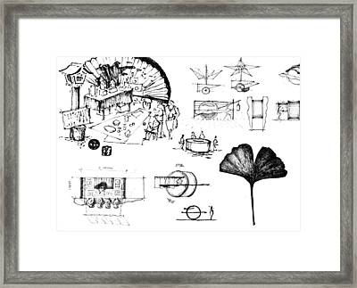 5.36.japan-8-detail-b Framed Print