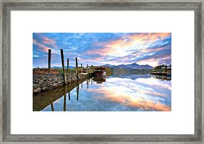 Beautiful Landscape Framed Print