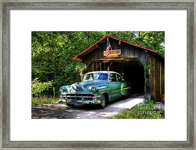54 Chevy Framed Print