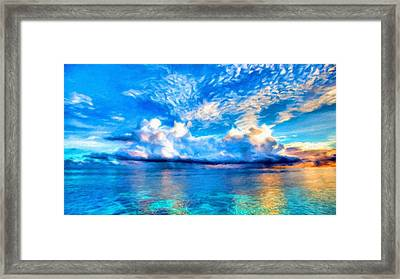Landscapes To Paint Framed Print