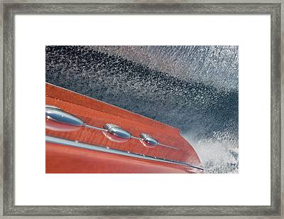 Mahogany Magic Framed Print by Steven Lapkin