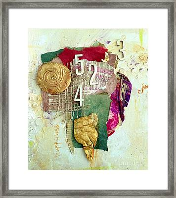 #5423, Joy And Happiness Framed Print