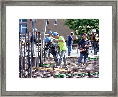 544 Union C2 Framed Print