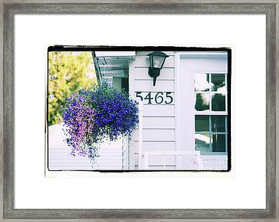 Framed Print featuring the photograph 5465 -h by Aimelle