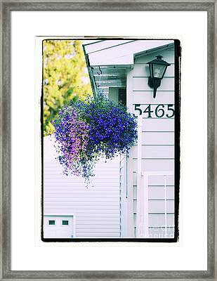 Framed Print featuring the photograph 5465 -v by Aimelle